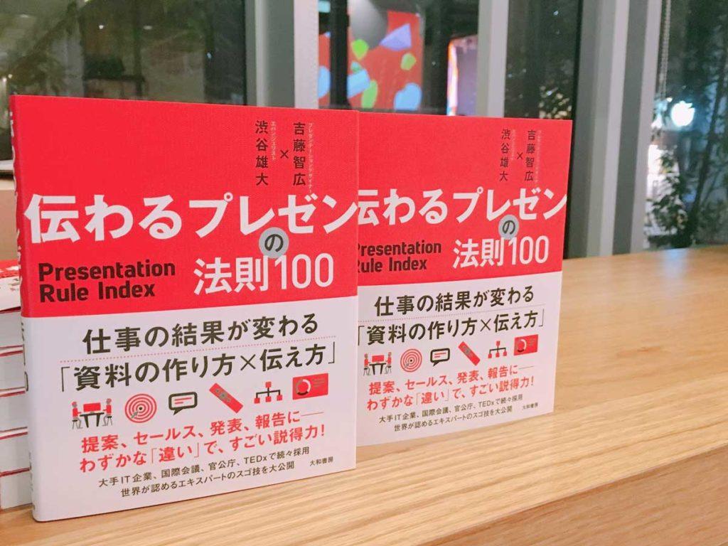 「伝わるプレゼンの法則100」は絶賛発売中!