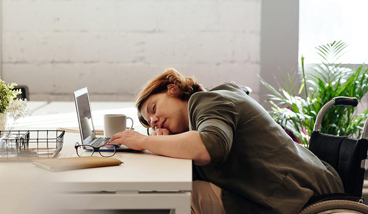 リモートワーク、眠たくて仕方がないとき