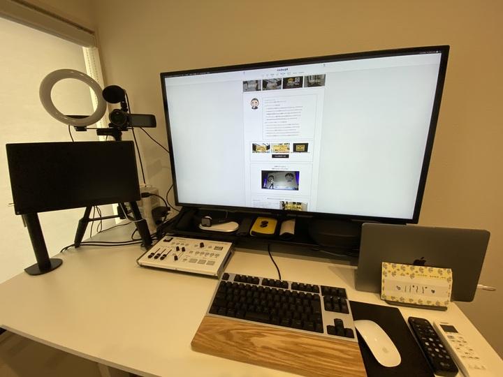 シンプルな動画配信 環境設定の例
