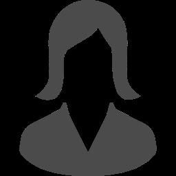 女性の人物アイコン